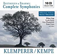 Beethoven / Brahms: The Complete Symphonies by Fritz Wunderlich