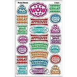 トレンド ごほうびシール よくできました 大 176片 Trend superShapes Stickers Large Praise Words T-46351