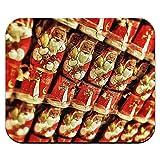 チョコレートサンタクロースクリスマス休日マウスパッド