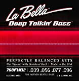 La Bella 760FHB2/Hofner Beatle Bass/039-100/Stainless Flat Wound