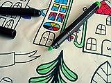 IKEA LOPPSTARR 70259901 布用マーカー 6色セット 画像