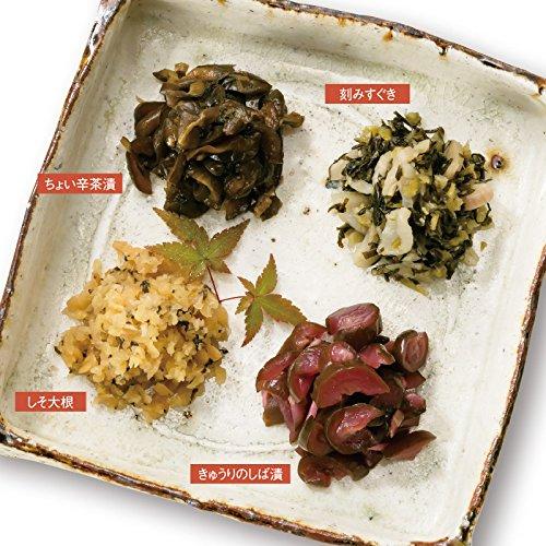 京都土産 京漬物 4種 (日本 京都 お土産)