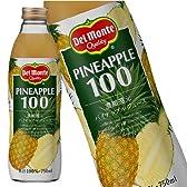 デルモンテ パイナップルジュース (果汁100%) 750ML×6本 [その他]