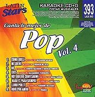 Karaoke Latin Stars 393 Pop Vol. 4 [並行輸入品]