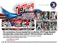 Topps 2018 野球ホビーエディション コンプリート705カードファクトリーセット - 野球コンプリートセット