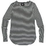(ポイズンアップル) POISON APPLE ロング レイヤード Tシャツ カットソー 指穴 メンズ 長袖 0172 ボーダー 柄 2XL