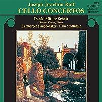 ラフ:チェロ協奏曲第1番 ニ短調 Op.193・小曲集「出会い」 Op.86-1・他