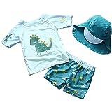 EGELEXY Baby Boys Summer Sports Swimwear Cartoon Dinosaur Swimsuit Bathing Beach