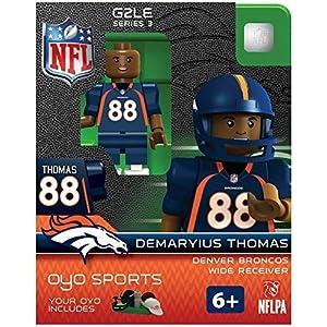 NFL Denver Broncos NFL Generation 2 Series シリーズ 3 Minifigure Demaryius Thomas トーマス by OYO [並行輸入品]