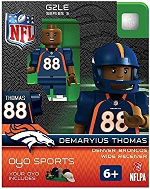 NFL Denver Broncos NFL Generation 2 Series シリーズ 3 Minifigure Demaryius Thomas トーマス by OYO [並行輸入品]