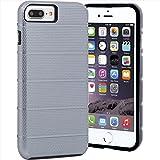 Case-Mate Apple Pay 対応 iPhone7 Plus ケース ハイブリッド タフ マグ, メタリック スペースグレー / ブラック 【米軍MIL規格標準準拠】 CM034782