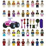 ミニフィギュア ミニフィグガールズ 36体+13小道具+四輪バギーセット レゴ対応 互換