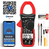 Digital Clamp Meter Voltage Tester,HOLDPEAK HP-570CAPP Multimeter with Amp Ohm Tester,4000 Counts Multimeter with AC/DC Volta