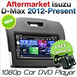 TUNEZ 7 Inches 2 Din Car Audio CD DVD USB MP4 MP3 Player for Isuzu D-Max MU-X and Holden Chevrolet Colorado 2nd Generation St
