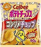 カルビー ポテトチップス コンソメチョップ 60g×12袋