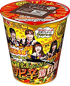 明星 SKE48ラーメン部監修 進化系名古屋らーめん シビ辛鶏白湯 100g×12個