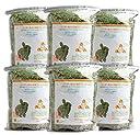 牧草市場 USチモシー 2番刈り 牧草 ソフトタイプ 3kg (500g×6パック)(うさぎ モルモットなどの牧草)
