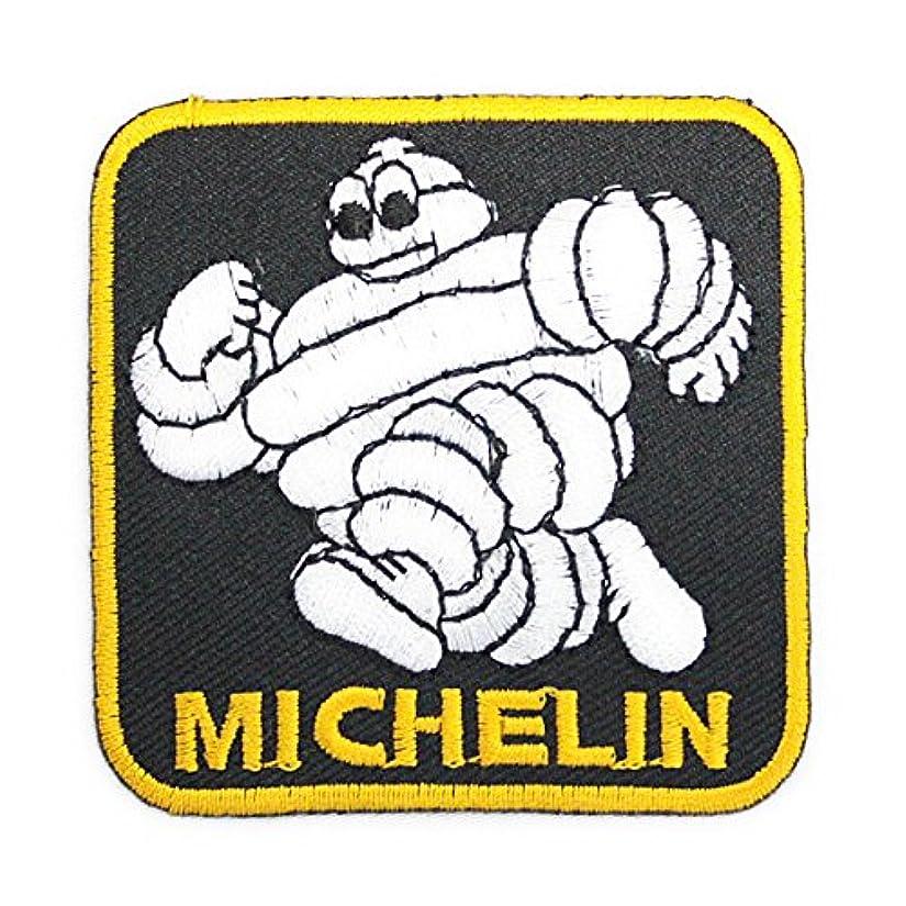 取り付けスライム同等のノーブランド品 MICHELIN ミシュラン CARandBIKE ワッペン 黒