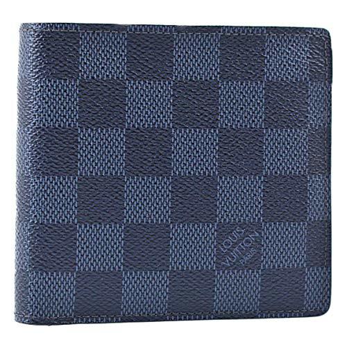 (ルイヴィトン) LOUIS VUITTON ダミエライン コバルト ポルトフォイユ マルコ (2つ折財布) 『N63213』