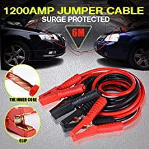 New Heavy Duty 1200AMP Jumper Leads Jump 6m Long Booster Cables Surge Protected