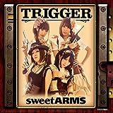 Reboot Tactics♪sweet ARMS(野水伊織、富樫美鈴、佐土原かおり、味里)のCDジャケット