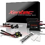 Xentec H3 6000K HID xenon bulb x 1 pair bundle with 2 x 35W Digital Slim Ballast (Ultra White)