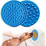 Aoche Lick Mat for Dogs Slow Feeder Pad with Super Strong Suction Washing Distraction Device for Dog Treats, Cat Food, Pet Ba
