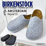 BIRKENSTOCK ルームシューズ (ビルケンシュトック) BIRKENSTOCK AMSTERDAM FELT ルームシューズ 靴 サンダル フェルト素材 bks-amsterdam-felt