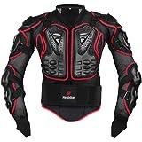 HEROBIKER オートバイフルボディアーマージャケット 背骨 胸保護ギア モトクロス モトス プロテクター オートバイジャケット 2スタイル