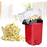 【2021 New Year 𝐏𝐫𝐨𝐦𝐨𝐭𝐢𝐨𝐧】 Popcorn Maker Mini, 1100W Mini Household Kitchen Electric ABS Popcorn Maker Machine AU Plu
