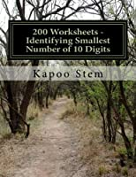 Identifying Smallest Number of 10 Digits: Math Practice Workbook (200 Days Math Smallest Numbers)
