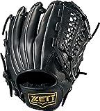 ZETT(ゼット) ソフトボール グラブ (グローブ) デュアルキャッチ オールラウンド 右投用 ブラック(1900) LH BSGB53820