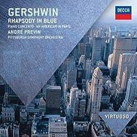 VIRTUOSO: Gershwin: Rhapsody In Blue/Piano Concerto/American In Paris by Andre Previn (2012-07-24)