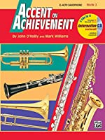 Accent on Achievement Book 2: E Flat Alto Saxophone
