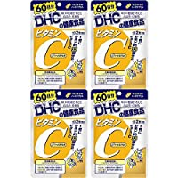 【セット品】DHC ビタミンC(ハードカプセル) 60日分 120粒 (4袋)