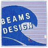 [ビームス デザイン] ハンカチ メンズ タオル 06908001B ブルー 日本 25cmx25cm (FREE サイズ)