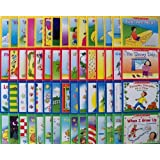 60 Scholastic Easy Leveled Readers Phonics Early Guided Reading Lot (15 Books Per Levels A, B, C, and D) (Little Leveled Read