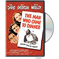 The Man Who Came to Dinner [Region 2] by William Keighley, Bette Davis, Ann Sheridan, and Jimmy Durante