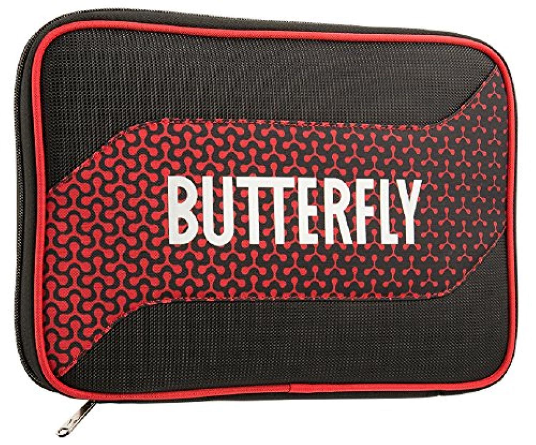 バタフライ(Butterfly) 卓球 ラケットケース メロワ?ケース 62800 レッド(006)