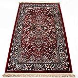 絨毯柄マット 約80x150cm メダリオン模様 トルコ製 FR1248
