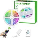 Led Strip Lights, Super Bright RGB 9.8ft/3Meter 24V Color Changing Led Strip Lights with 44 Keys RF Remote Controller for Bed