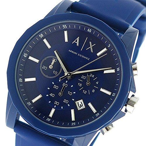 アルマーニエクスチェンジ ARMANI EXCHANGE クロノ クオーツ メンズ 腕時計 AX1327 ネイビー/ネイビー 腕時計 海外インポート品 アルマーニエクスチェンジ mirai1-557364-ak 並行輸入品 簡易パッケージ品