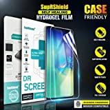 [3 Pack] Samsung Galaxy S10+ (6.4 inch) SupRShield HYDROGEL Aqua Flex Screen Protector Full Coverage 3D Curve High Definition