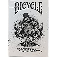 BICYCLE (バイスクル トランプ) KARNIVAL(カーニバル) Original Black Playing Cards