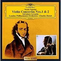 パガニーニ:ヴァイオリン協奏曲第1番&第2番「ラ・カンパネッラ」