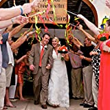 amleso 結婚式 妖精ツイリングリボン リボンワンド ベル マルチカラー パック ワンド スティック 約10個セット