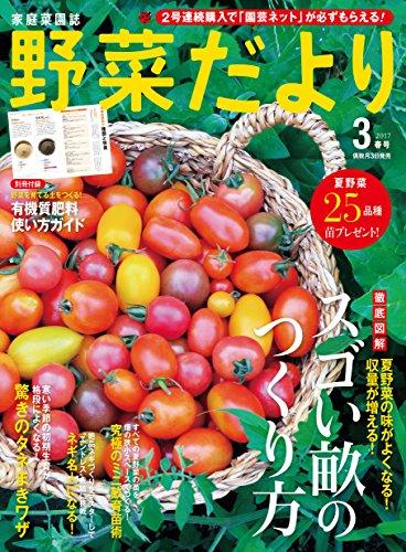 野菜だより 2017年 03 月号 [雑誌]の詳細を見る