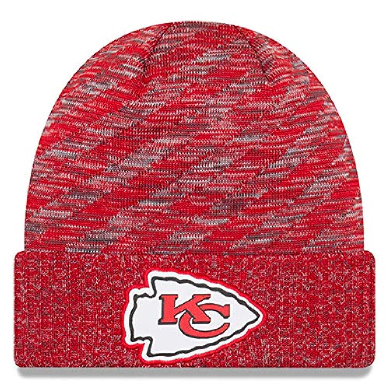 ニューエラ (New Era) NFL サイドライン 2018 ニット ビーニー帽 - カンザスシティーチーフス (Kansas City Chiefs)