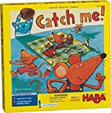 Haba Catch Me 。 – A Fast Catching木製Reactionゲームfor Ages 4 and Up (ドイツ製)