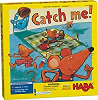 Haba Catch Me 。–A Fast Catching木製Reactionゲームfor Ages 4and Up (ドイツ製)
